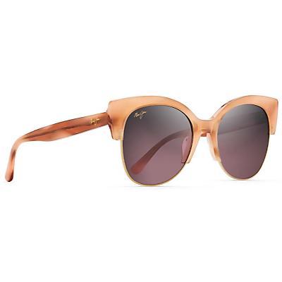 Maui Jim Mariposa Polarized Sunglasses - Coral with Rose Gold / Maui Rose