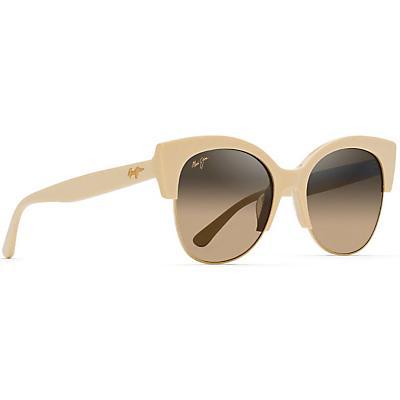 Maui Jim Mariposa Polarized Sunglasses - Ivory With Gold / HCL Bronze