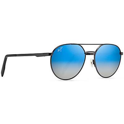 Maui Jim Waterfront Polarized Sunglasses - Dark Gunmetal / Dual Mirror
