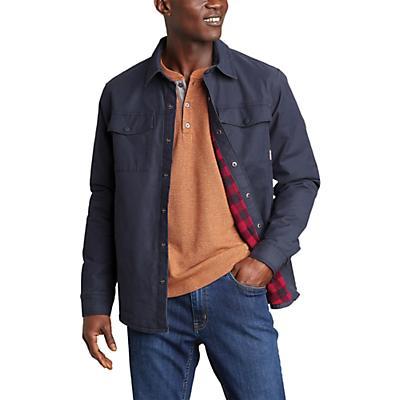 Eddie Bauer Voyager Fleece Lined Shirt Jacket - Storm