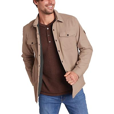 Eddie Bauer Voyager Fleece Lined Shirt Jacket - Light Khaki