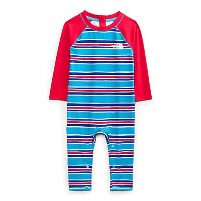The North Face Infant Sun One Piece - 6-12M - Meridian Blue Painted Stripe Print
