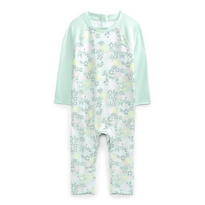 The North Face Infant Sun One Piece - 6-12M - Misty Jade Flower Garden Print
