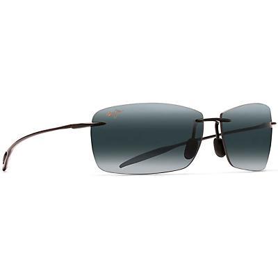 Maui Jim Lighthouse Reader Sunglasses - Gloss Black / Neutral Grey