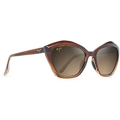 Maui Jim Lotus Polarized Sunglasses - Chocolate Fade / HCL Bronze