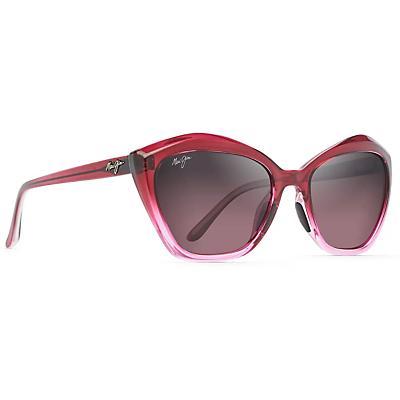 Maui Jim Lotus Polarized Sunglasses - Raspberry Fade / Maui Rose