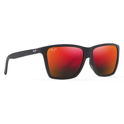 Maui Jim Cruzem Polarized Sunglasses - Black Matte / Hawaii Lava