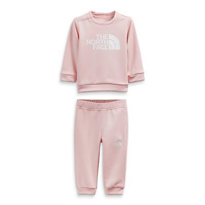 The North Face Infant Surgent Crew Set - Peach Pink