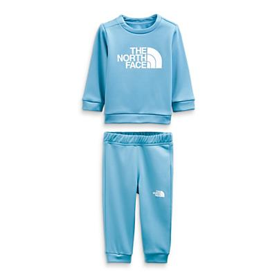 The North Face Infant Surgent Crew Set - Niagara Blue