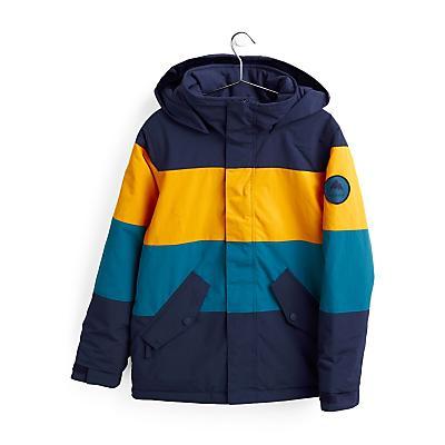 Burton Symbol Snowboard Jacket - Dress Blue/Cadmium Yellow/Celestial Blue