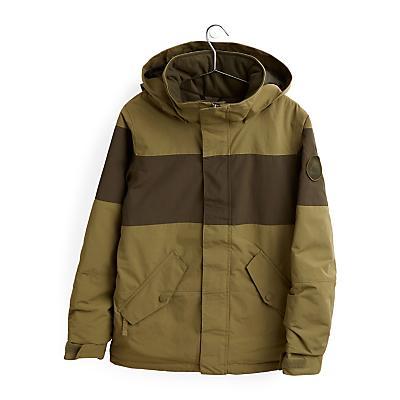 Burton Symbol Snowboard Jacket - Martini Olive/Forest Night