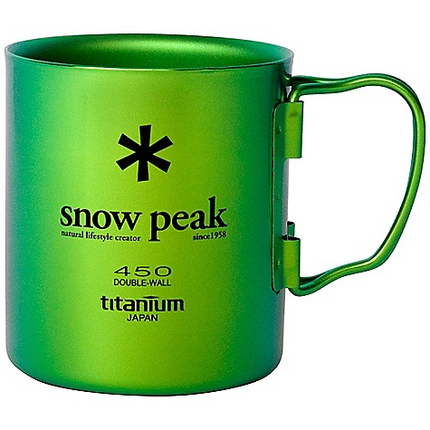 Snow Peak Titanium Double Wall Cup 85453