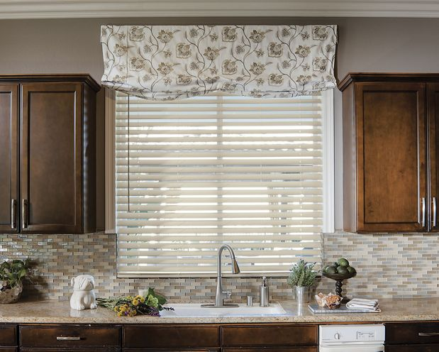 Relaxed Roman Fabric Valance
