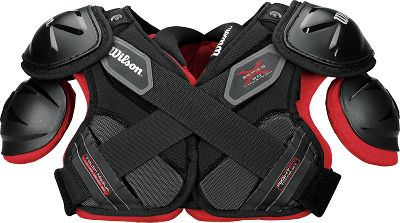 wilson youth xpad 20 football shoulder pads  quality sports