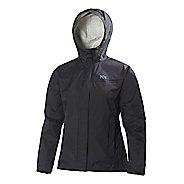 Womens Helly Hansen Loke Jacket Half-Zips & Hoodies Technical Tops - Black 3X