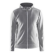 Mens Craft Leisure Full-Zip Hoodie & Sweatshirts Technical Tops