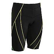 Mens CW-X Endurance Generator Unlined Shorts - Black/Green S