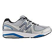 Mens New Balance 1540v2 Running Shoe - Silver/Blue 7.5