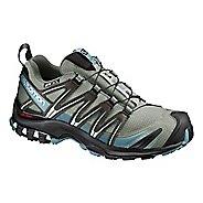 Womens Salomon XA Pro 3D CS WP Trail Running Shoe - Shadow/Black/Arctic 10