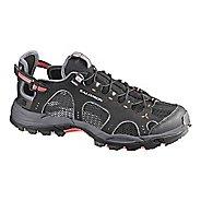 Womens Salomon Techamphibian 3 Hiking Shoe - Black/Grey 7