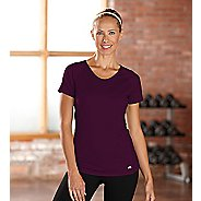 Womens R-Gear Fast and Fab Short Sleeve Technical Top - Mulberry Madness XS