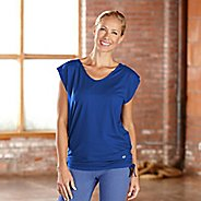 Womens R-Gear Picture Perfect Short Sleeve Technical Tops - Pacific Blue XL