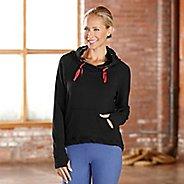Womens R-Gear Urban Appeal Hoodie Long Sleeve Hooded Technical Tops - Black S