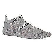 Injinji RUN Original Weight No Show Socks - Grey S