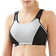 Womens Glamorise Double Layer Custom Control B/C Sports Bras - Black 46B