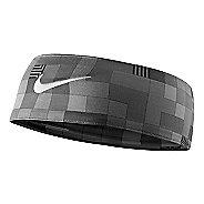 e43ae153a77 Womens Nike Fury Headband Headwear - Black White Glitch