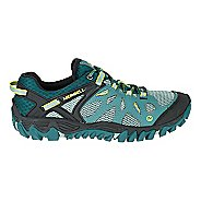 Womens Merrell All Out Blaze Aero Sport Hiking Shoe - Sea Pine 5