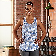 Womens R-Gear Stripe Hype Tank Sleeveless & Tank Technical Tops - Neptune Blue M