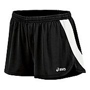 Womens ASICS Break Through 1/2 Split Shorts