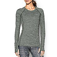 Womens Under Armour ColdGear Cozy Crew Long Sleeve Technical Tops