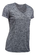Womens Under Armour Tech V-Neck Twist Short Sleeve Technical Tops