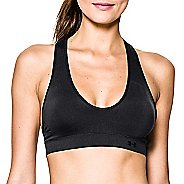 Womens Under Armour Seamless Plunge Sports Bras - Black S