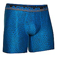 "Mens Under Armour Original Printed 6"" Boxerjock Boxer Brief Underwear Bottoms"