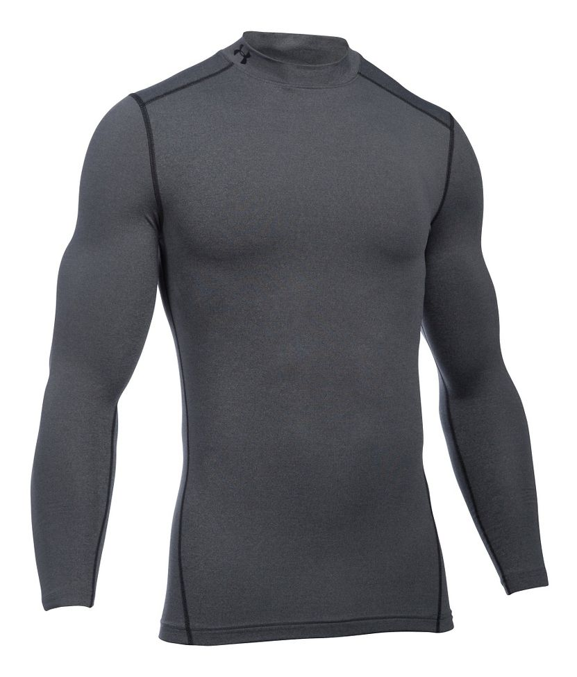 0e0144c7e Mens Under Armour Coldgear Armour Compression Mock Long Sleeve No ...