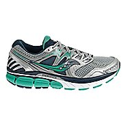 Womens Saucony Redeemer ISO Running Shoe - Silver/Green 5.5