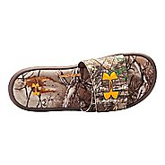 Mens Under Armour Ignite Camo IV SL Sandals Shoe - Real Tree/Brown 10