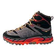 Mens Hoka One One Tor Ultra Hi WP Hiking Shoe - Black/Red 7