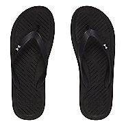 Mens Under Armour Atlantic Dune T Sandals Shoe - Black/Grey 13