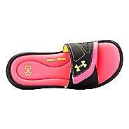 Womens Under Armour Ignite VII SL Sandals Shoe - Black/Black 12
