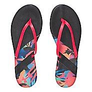 Womens Under Armour LakeShore DR T Sandals Shoe - Black/Coral 8