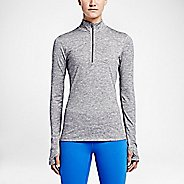 Womens Nike Element Long Sleeve Half Zip & Hoodies Technical Tops