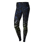 Womens Nike Printed Engineered Full Length Tights