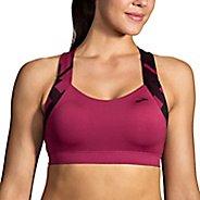 Womens Brooks UpLift Crossback Sports Bra - Seaglass/Navy XS