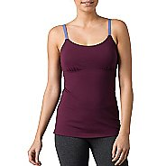 Womens Prana Nixie Top Sleeveless & Tank Technical Tops - Plum XL