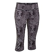 Womens Under Armour Studio City Hopper Printed Capri Tights