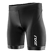 Womens 2XU G:2 Active Tri Unlined Shorts - Black/Black M